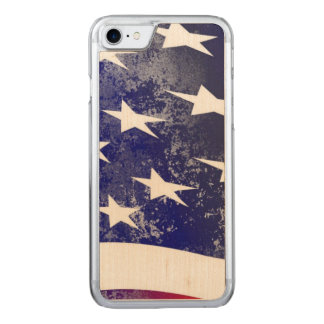 America Flag Carved iPhone 8/7 Case
