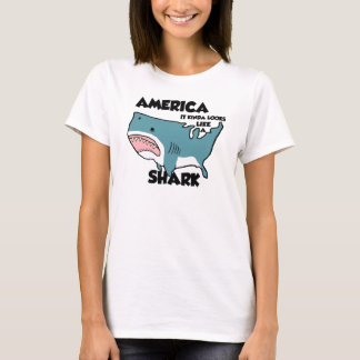 America is a Shark (New styles now available) T-Shirt
