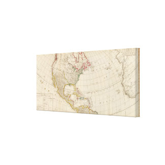 America north canvas prints