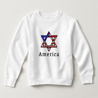 America Star of David Judaism! TODDLER SHIRT