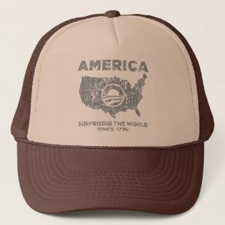 America: Surprising The World Trucker Hat