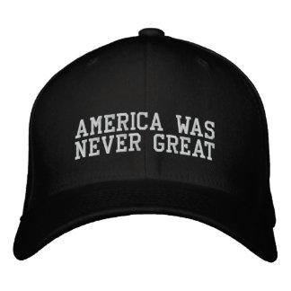 America Was Bever Great Baseball Cap