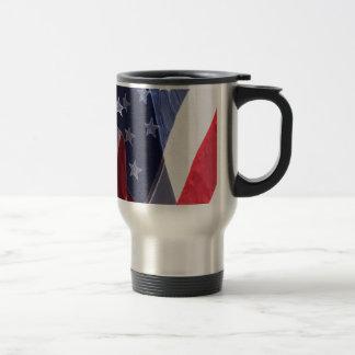 American Art Flag Travel Mug