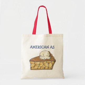 American As Apple Pie Slice a la Mode Dessert Tote