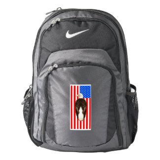 American Bald Eagle And American Flag Backpack