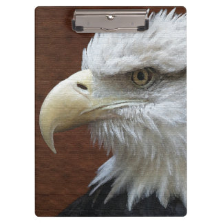 American Bald Eagle Bird Wildlife Animals USA Clipboard