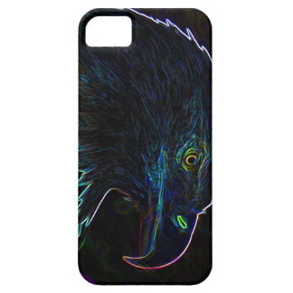 American Bald Eagle in Glowing Edges iPhone 5 Covers