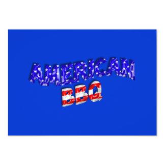 American Barbeque Invitation Template