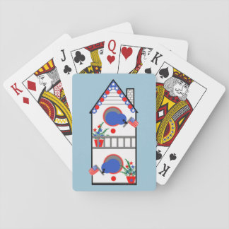 """""""American Birdhouse"""" Playing Cards, Standard Playing Cards"""