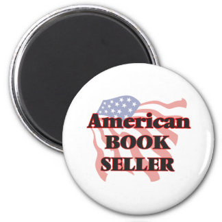 American Book Seller 6 Cm Round Magnet