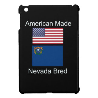 """""""American Born..Nevada Bred"""" Flags and Patriotism Case For The iPad Mini"""