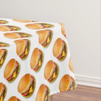 American Burger Tablecloth