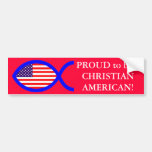American Christian Fish Symbol Flag