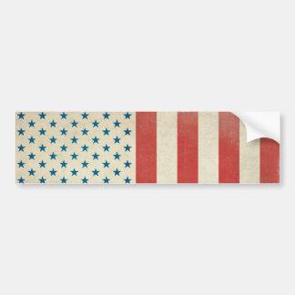 American Civil Flag Bumper Sticker