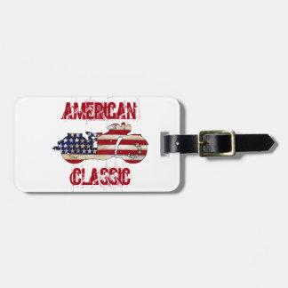 American Classic Luggage Tag