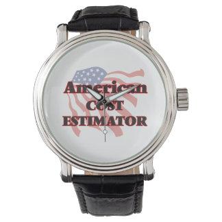 American Cost Estimator Wrist Watches