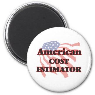 American Cost Estimator 6 Cm Round Magnet