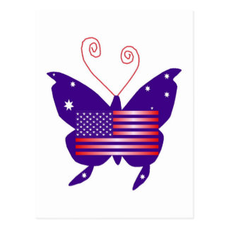 American Diva Butterfly Postcards