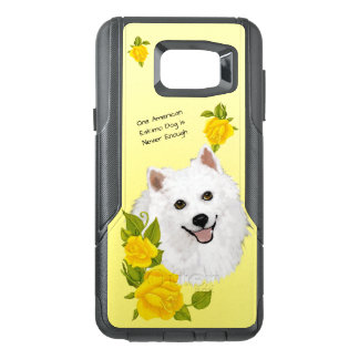American Eskimo Dog, with Yellow Roses OtterBox Samsung Note 5 Case
