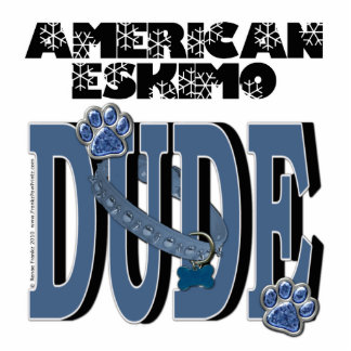 American Eskimo DUDE Photo Cutout
