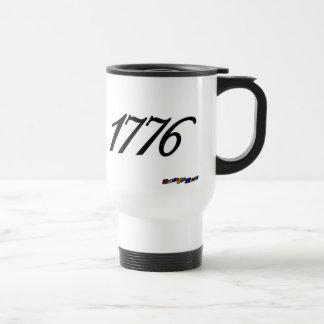 American Flag - 1776 - distressed Coffee Mug