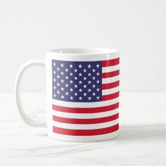 """AMERICAN FLAG"" BASIC WHITE MUG"