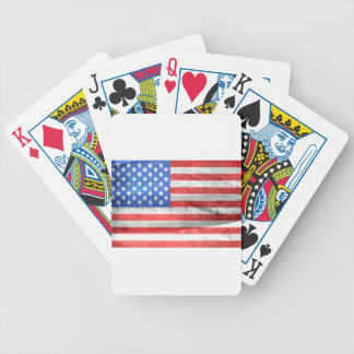 American Flag Independence Day 4 th July Bicycle Playing Cards