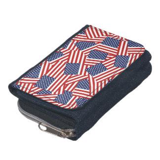 American Flag Inspired Design. Wallet