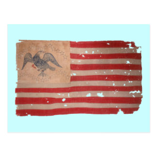 American Flag of the Fremont Expedition Postcard
