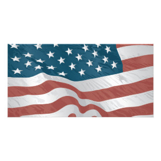American Flag Photo Cards