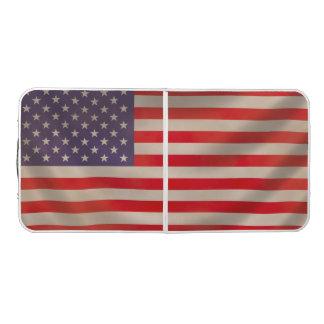 American Flag Pong Table