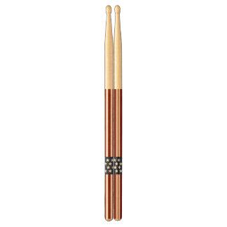 American Flag Stars and Stripes Drumsticks