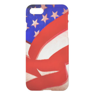 American Flag Uncommon iPhone 7 Clearly™ Deflector iPhone 7 Case