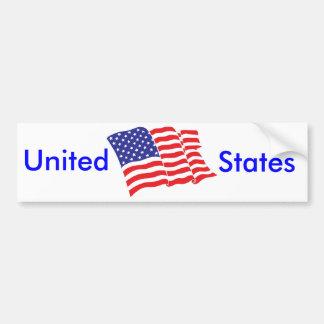 American-Flag USA Bumper Sticker