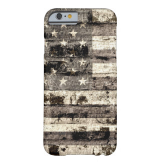 American Flag Vintage 5 Barely There iPhone 6 Case