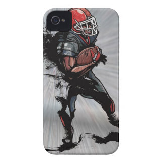 American football player holding football iPhone 4 covers