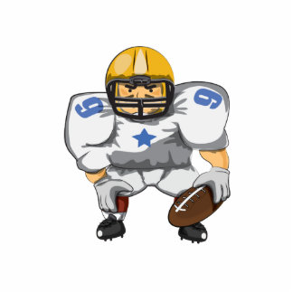 American Football Star Cut Outs