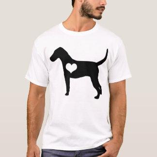 American Foxhound Heart Mens T-Shirt