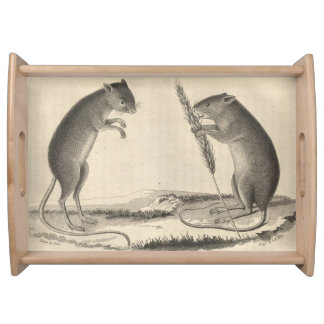 American Gerbil Serving Trays
