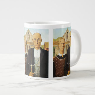 American Gothic Large Coffee Mug