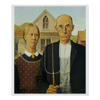 American Gothic Posters