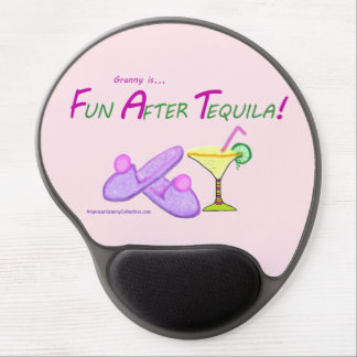American Granny Fun After Tequila Gel Mouse Pad