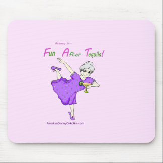 American Granny Fun After Tequila Mouse Pads