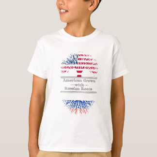 American Grown With Russian Roots T-Shirt