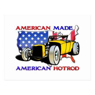 American Hotrod 1 Postcard