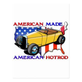 American Hotrod Postcard