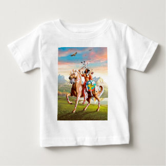 American Indian Brave on Horse Shirts