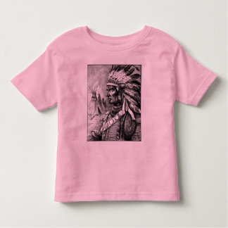 American Indian Chief Toddler's Shirt
