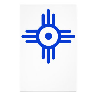 American Indian Symbol Stationery