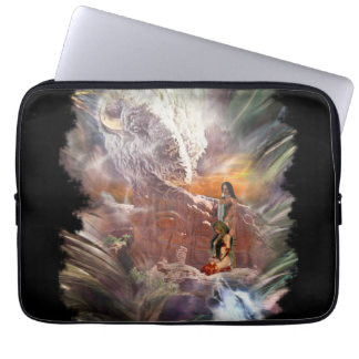 American Indian Wedding Night Vignette Laptop Sleeve
